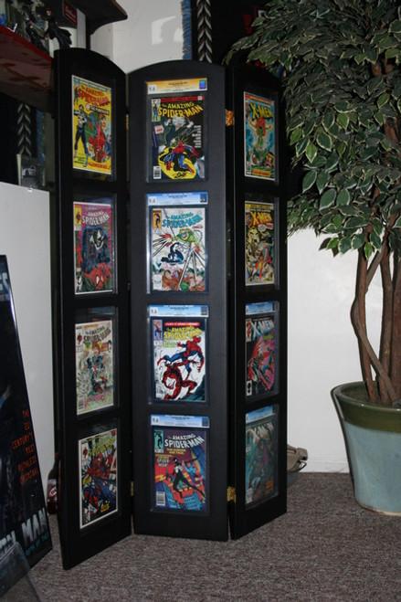 Tri-Fold Graded Comic Book Display Museum Edition