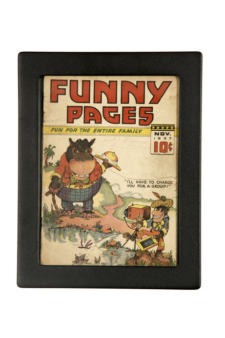 Frame for Golden Age Comic Books