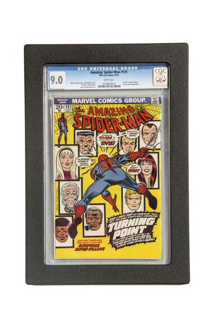 Frame for CGC slabs.  Blue Label
