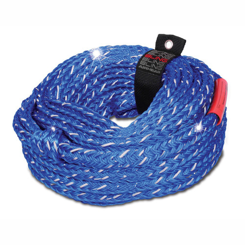 AIRHEAD BLING 6 Rider Tube Rope - 60' AHTR-16BL
