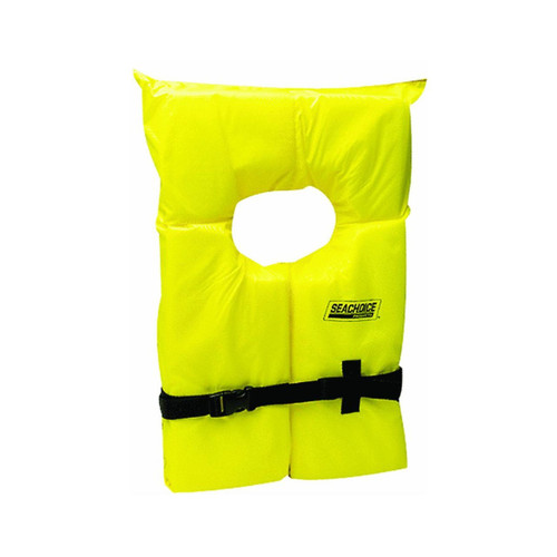 Seachoice 86020 Adult Life Vest, Yellow (86020)