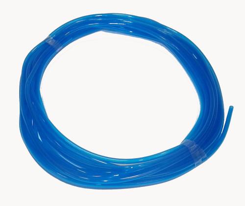 "WSM PWC Blue Polyurethane Fuel Hose 1/8"" x 25' (007-613)"