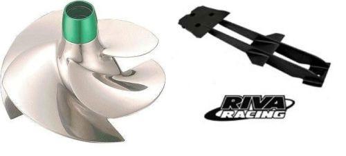 Sea Doo RXT/GTX 4-TEC SOLAS Impeller SRX-CD-13/18 & RIVA Intake Grate RS22055