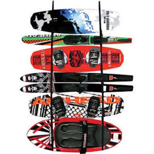 Airhead Ladder Rack Wakeboard Kayak Water Ski Paddle Wall Mount LR-1