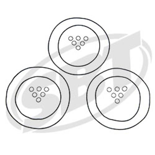 Polaris Head O'Ring Kit 1200 DI Virage Txi /Genesis I 2001 2002 2003 2004 2005 (53-308)