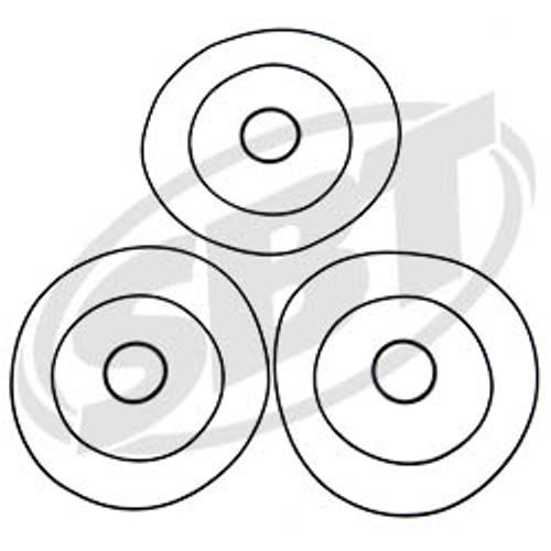 Polaris Head O'Ring Kit 1050 & 1200 Non DI SLTX /SL1050 /SLXH /Genesis /Pro 1200 /Virage TX 1996 1997 1998 1999 2000 2001 2002 (53-306)