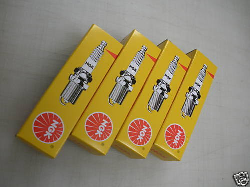 Yamaha NGK LFR6A Spark Plugs for Waverunner FZR FZS FX-SHO Set of 4 (LFR6A)