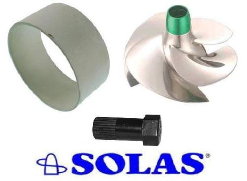 SeaDoo 2009+ RXP/RXT/GTX Wear Ring w/ SOLAS Impeller & Removal Tool SRZ-CD-14/19