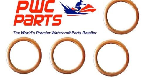 YAMAHA OEM Outboard Oil Drain Screw Gasket 4-PACK 4-Stroke 90430-14M09-00