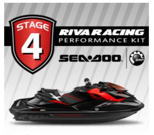 SEADOO RXP-X 260 STAGE 4 Kit RIVA 81+ MPH SCOM Catch Can Power Filter Bundle