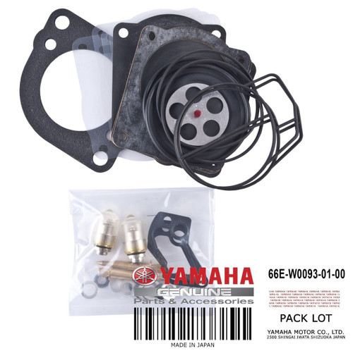 YAMAHA OEM Carburator Repair 66E-W0093-01-00 2000-2005 GP XL XLT XA 800 Models