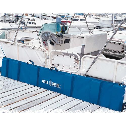 Hull Hugr Roll Up Dock Bumper Boat Sail PWC Fender Blue HH-S