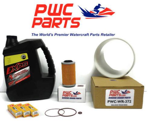 SeaDoo BRP Oil Change Kit RXP-X RXT-X GTX 215/255/260 4-TEC Spark Plug Wear Ring