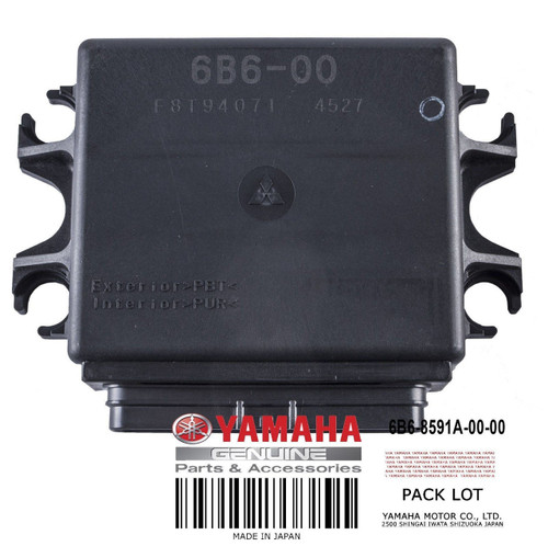 YAMAHA OEM Engine Control Unit 6B6-8591A-00-00 2004 FX 1100 HO / Cruiser HO PWCs