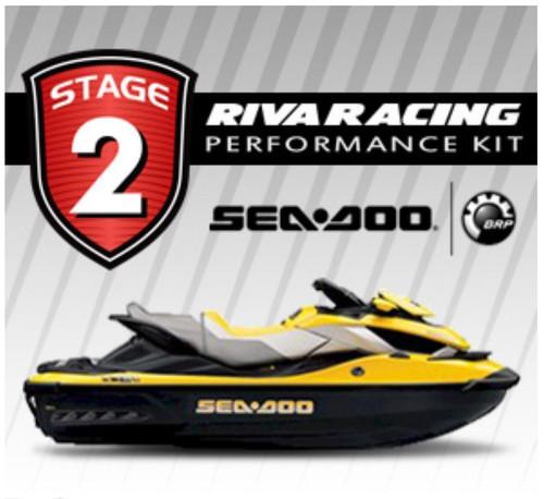 SEADOO 2009 RXT iS 255 RIVA Stage 2 Kit 74+ MPH Power Filter w/ MaptunerX Bundle