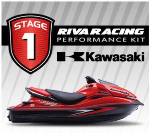 KAWASAKI 2007 ULTRA 250X RIVA Stage 1 Kit 70+ MPH w/ Exhaust Emission Blockoff +