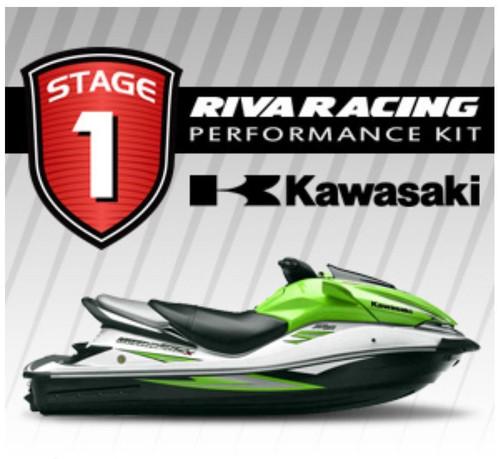 KAWASAKI 2008 ULTRA 250X RIVA Stage 1 Kit 70+ MPH w/ Ride Plate / Sponsons Kit