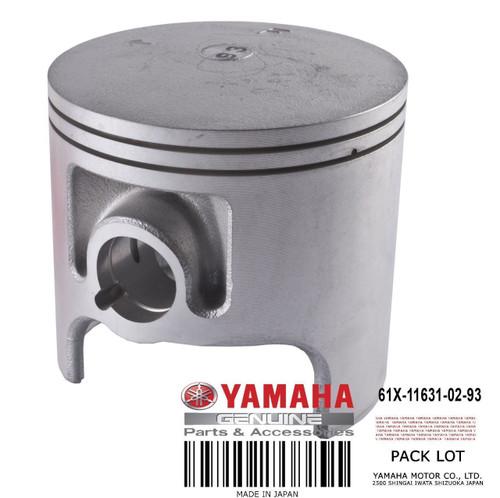 YAMAHA OEM Piston (Standard) 61X-11631-02-93 1993-2017 FX Blaster Runner Raider SUPERJET