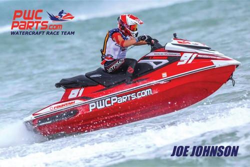 JOE JOHNSON 2018 PROMO CARD HERO. GREAT POSTCARD! ATTACH STAMP AND SEND!
