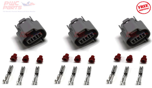 SeaDoo 4-TEC 2006+ Spark Plug Coil Upgrade Kit to 2016+ 300HP RXP RXT Style