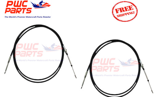 YAMAHA Boat 2-PACK Steering Cable 2008-2016 212X AR210 SX210 F1T-U1470-10-00  002-204