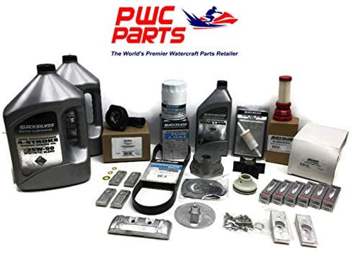 MERCURY VERADO L6 300 Hour Maintenance & Oil Change Kit 200/225/250/275/300/350 / 400HP 8M0097859 (5.44 TORPEDO - 25W50)