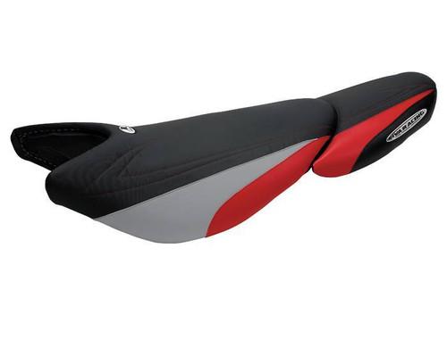 Kawasaki Ultra 250X/260/300X/310X Riva Seat Cover Black/Red/Silver RK5-ULTRA-4