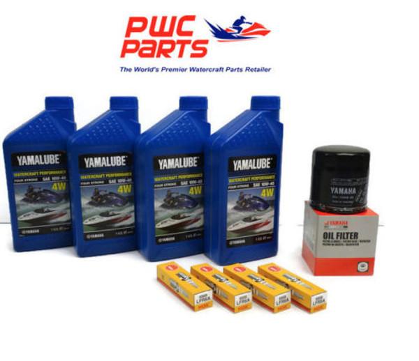 YAMAHA Oil Change Kit w/ Filter FX-SVHO FZ GP1800 69J-13440-03-00 NGK SPARK PLUG