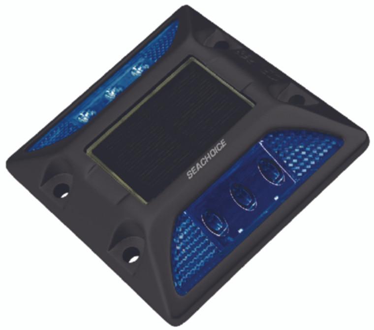 Seachoice Solar Heavy-Duty ABS Square LED Dock Light 50-03713