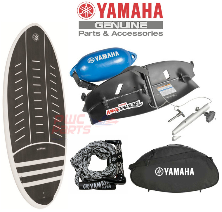 Yamaha Jet Boat 2017+ 21' Wake Surf Package Booster Boss Hoss Board Rope F3R-U5909-V1-00 w/ SBT-YSPSB-50-21  WAKEBOOSTER