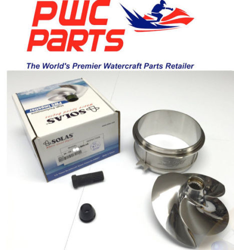 FREE Tool Kit Wear Ring SeaDoo 1997 GSI  ADONIS 14//23  POLISHED Impeller