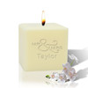 """3"""" Soy Pillar Candle - Mr & Mrs"""