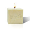 """3"""" Pure Aromatherapy Palm Wax Candle - Initial & Initial"""