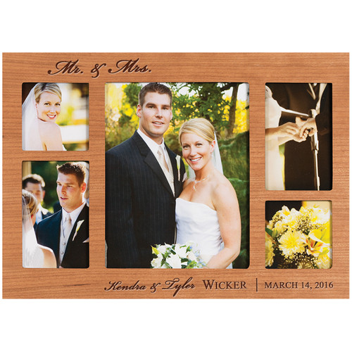 COLLAGE WOODEN PHOTO FRAME