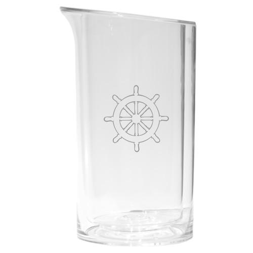 Iceless Wine Bottle Cooler - Ship Wheel