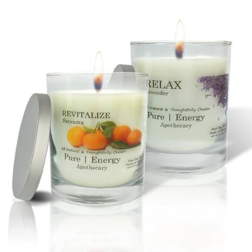 Lavender and Satsuma Candles