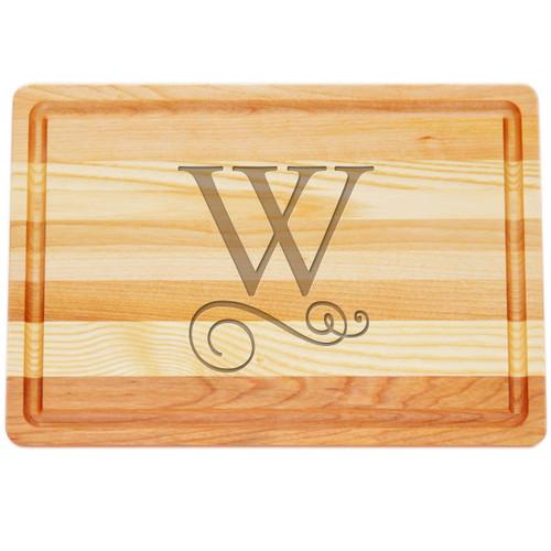 "Medium Master Cutting Boards 14.5"" X 10"" - Large Personalization"