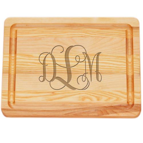 "Small Master Cutting Board 10"" X 7.5"" - Large Personalization"