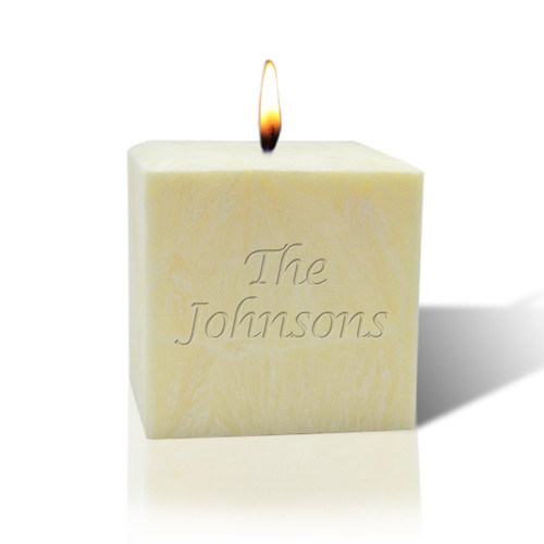 "3"" Pure Aromatherapy Palm Wax Candle - Name or Phrase"