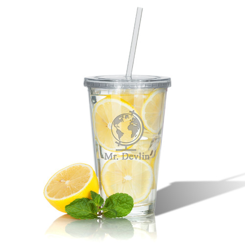 PERSONALIZED DOUBLE WALLED TUMBLER WITH STRAW(Unbreakable) : HISTORY