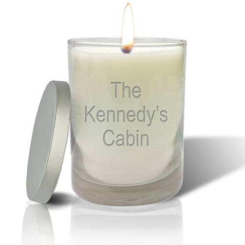 Soy Glass Candle - Cabin