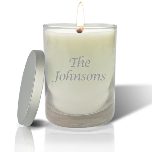 Soy Glass Candle - Personalized