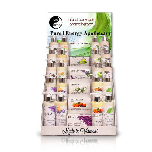 PURE ENERGY APOTHECARY INTRODUCTORY DISPLAY