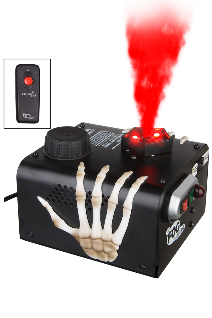 LED Fog Machine with Vertical Spout