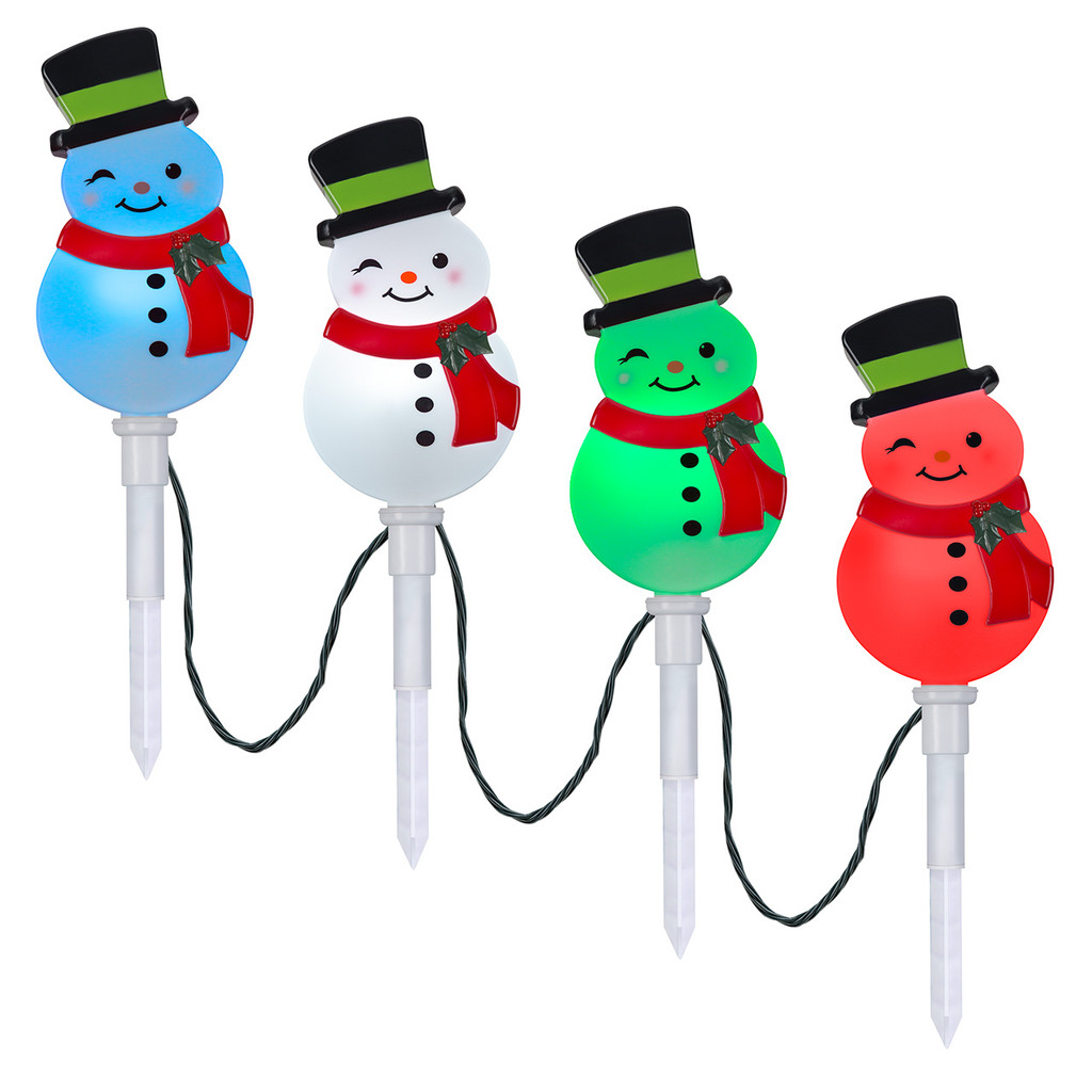 ColorMotion Snowman Stakes