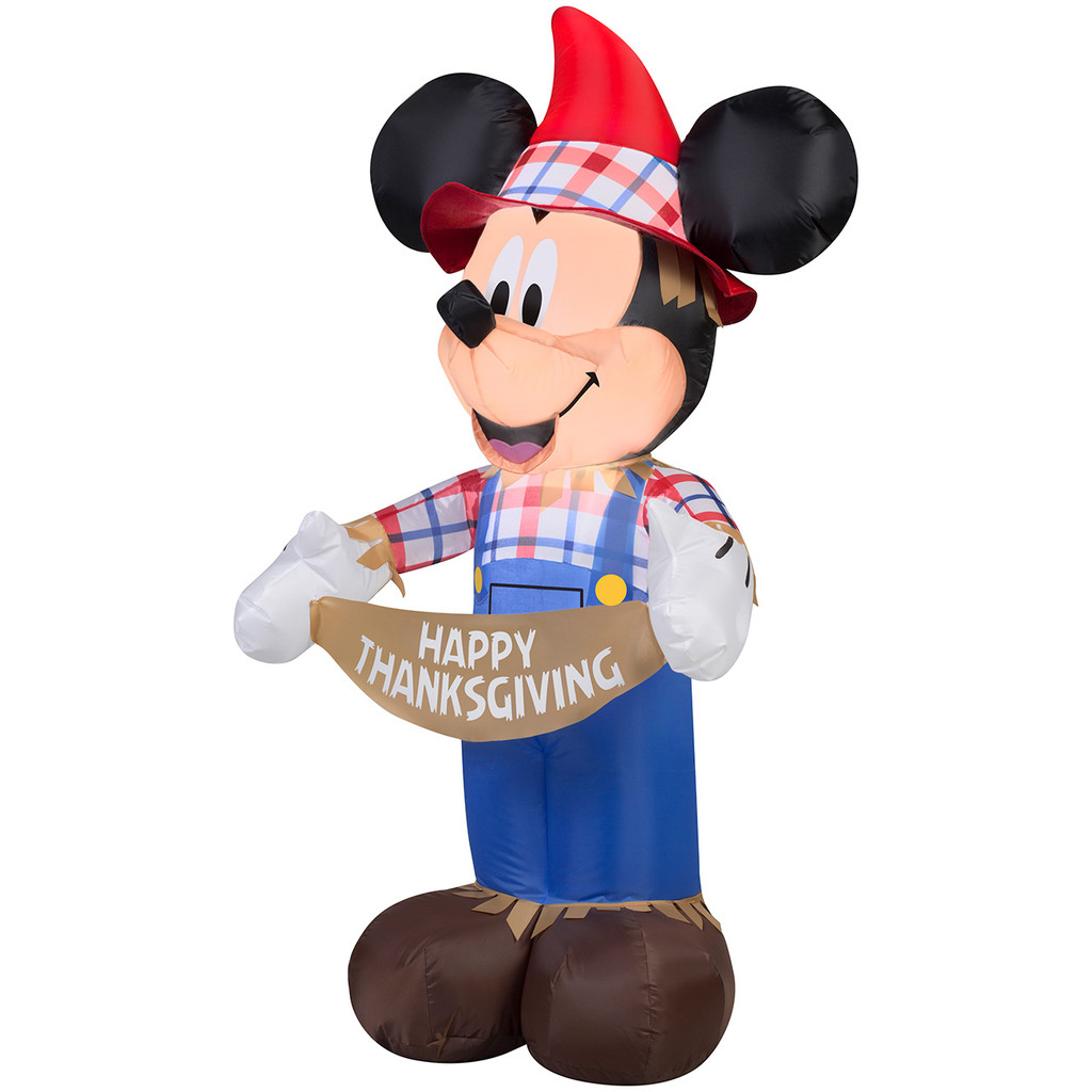 Mickey Mouse as Scarecrow