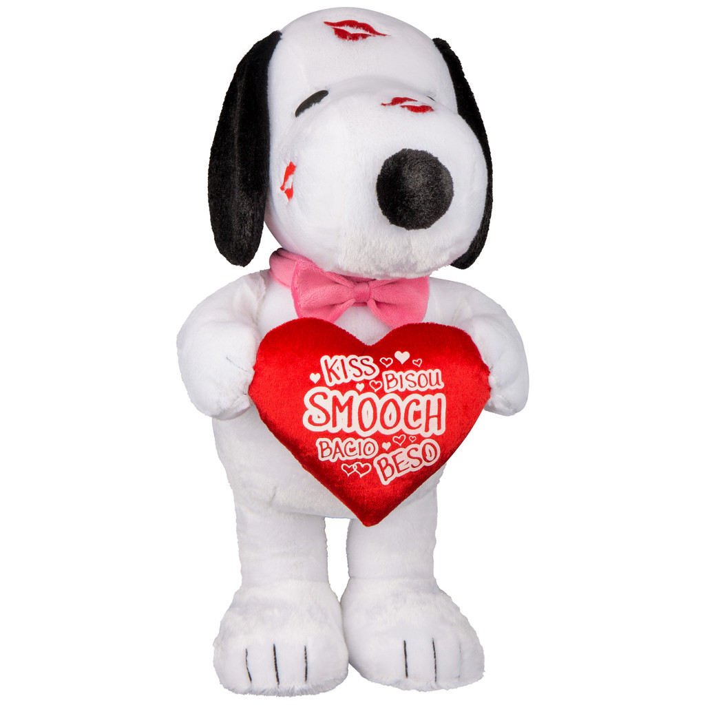 Snoopy with Kisses