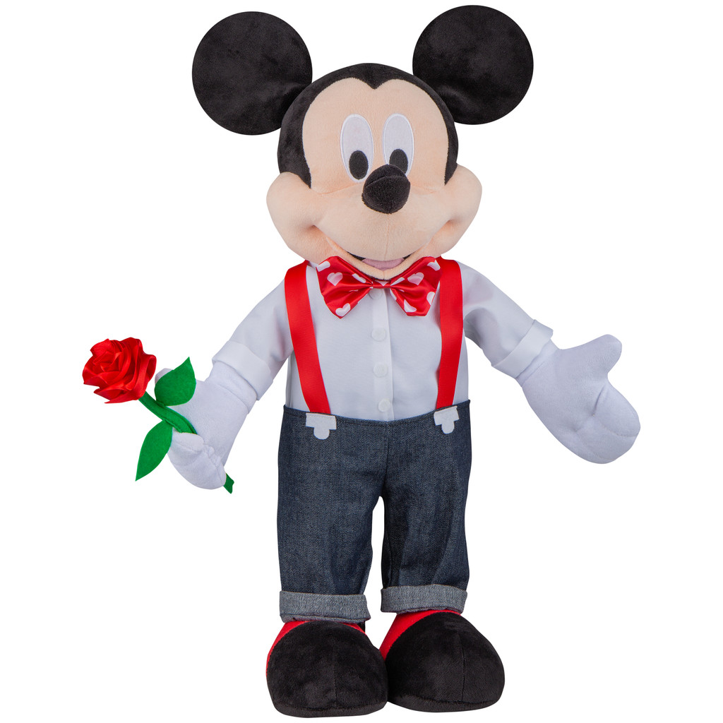 Mickey Mouse in Suspenders