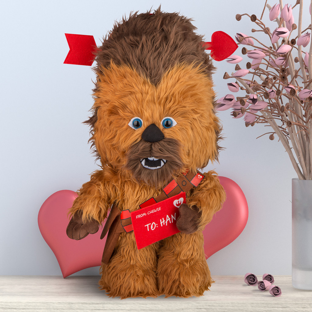 Chewbacca as Cupid