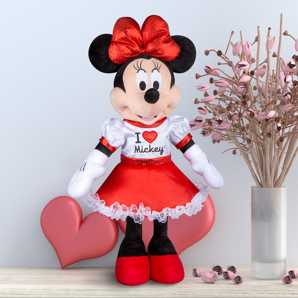 "Minnie Mouse with ""I Love Mickey"" Top"